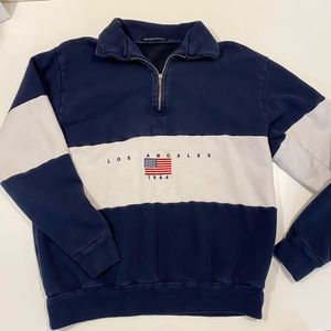 Brandy Melville 1/4 zip sweater